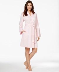 Charter Club French Terry Kimono Robe Petal Pink