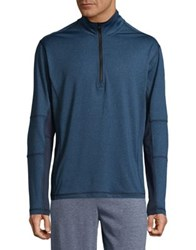 Hawke And Co Zip Front Sporty Jacket Dark Blue