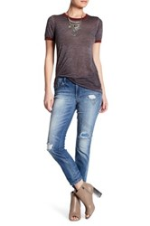 Jessica Simpson Mika Slim Slouch Jean Blue