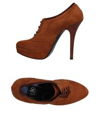 Islo Isabella Lorusso Lace Up Shoes Camel