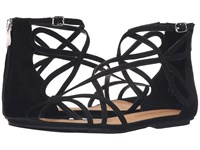 Chinese Laundry Penny Black Micro Suede Women's Sandals