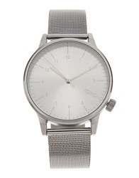 Komono Wrist Watches Silver