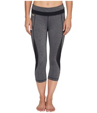 Lole Run Capris Black Noise Women's Capri