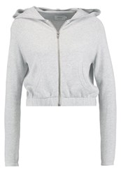 Only Onlvessi Cardigan Light Grey Melange Mottled Light Grey