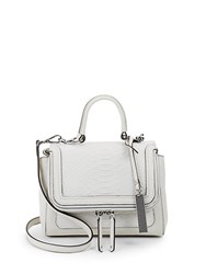 Vince Camuto Brud Small Leather Satchel Vaprous Grey