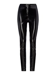 Label Lab Vinyl Trouser Black