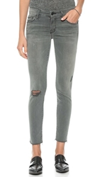 Mother Looker Skinny Ankle Fray Jeans Last Chance Saloon