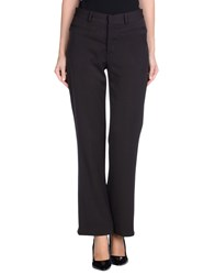 Fabio Di Nicola Trousers Casual Trousers Women Dark Brown