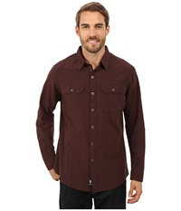 Kuhl Sting Long Sleeve Shirt Brick Men's Long Sleeve Button Up Red