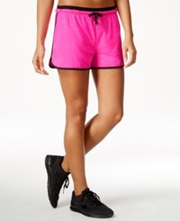 Ideology Training Shorts Only At Macy's Molten Pink