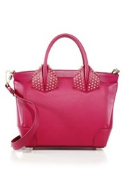 Christian Louboutin Eloise Small Studded Leather Tote Indian Rose