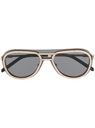 Hublot Eyewear X Italia Independent I I Mod Sunglasses Gold