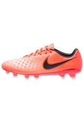 Nike Performance Magista Opus Ii Fg Football Boots Total Crimson Black University Red Bright Mango Pearl Pink