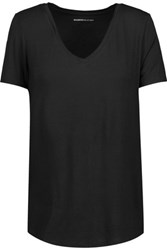 Majestic Washed Stretch Jersey T Shirt Black