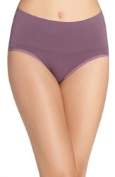 Yummie Tummie Women's By Heather Thomson 'Nici' Shaping Briefs Vintage Violet