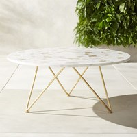 Capiz Coffee Table