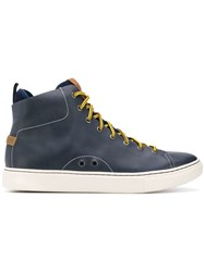 Polo Ralph Lauren Contrasting Lace Sneakers Blue