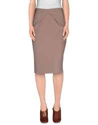 List Knee Length Skirts