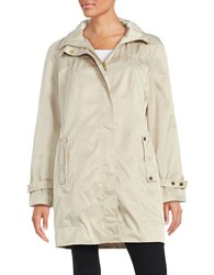Calvin Klein Packable Anorak Cream