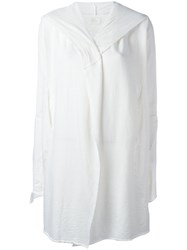 Lost And Found Ria Dunn Long Jacket White