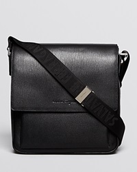 Salvatore Ferragamo Revival Small Messenger Black