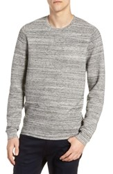Calibrate Ottoman Crewneck Sweater Grey Tornado Spacedye