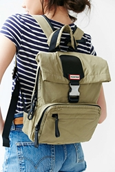 Hunter Original Nylon Foldover Backpack Olive