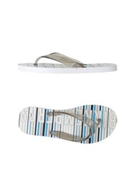 Bikkembergs Thong Sandals Grey