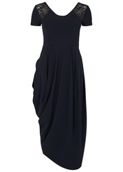 High Volta Navy Jersey Dress