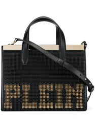 Philipp Plein Studded Tote Black