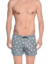Frankie Morello Swimwear Swimming Trunks Men Black
