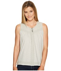 Aventura Clothing Remi Tank Top High Rise Women's Sleeveless Silver