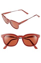 Electric Eyewear Women's Electric 'La Txoko' 51Mm Retro Sunglasses Smokey Crimson Rose