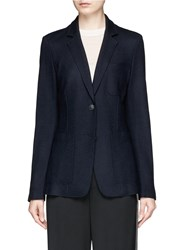 Rag And Bone 'Gilbert' Wool Flannel Soft Blazer Blue
