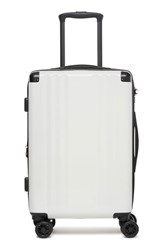 Calpak Ambeur 20 Inch Rolling Spinner Carry On White