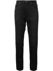 Ag Jeans Cropped Skinny Black