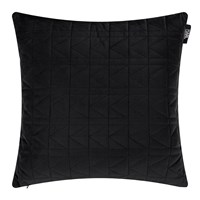 Karl Lagerfeld Quilted K Bed Cushion 45X45cm Black