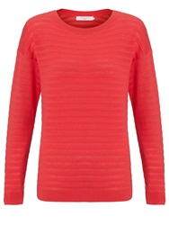 John Lewis Thick And Thin Cotton Jumper Pink