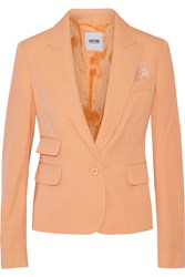 Moschino Cheap And Chic Wool Twill Blazer Orange