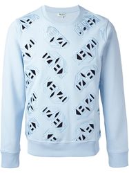 Kenzo 'Kenzo' Cut Out Sweatshirt