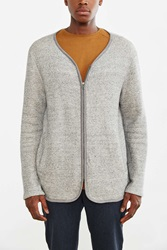 Koto Liner Cardigan Sweater Grey