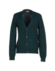 Closed Knitwear Cardigans Men Green