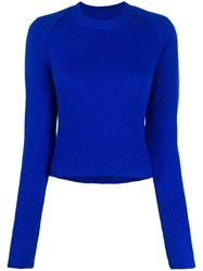 Rta Cashmere Ribbed Neck Jumper 60