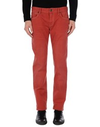 Boss Orange Denim Denim Trousers Men