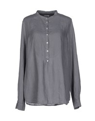 Rossopuro Shirts Blouses Women Grey