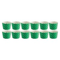 Habitat Mamble Set Of 12 Green Baking Cups