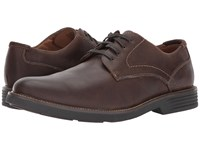Dockers Parkway Dark Brown Waxy Burnished Full Grain Men's Shoes