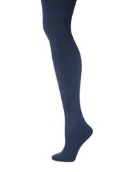 Kate Spade Opaque Tights French Navy