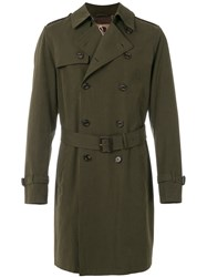 Sealup Tailored Fitted Coat Green