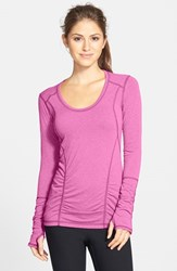 Women's Zella 'Z 6' Long Sleeve Tee Purple Ray